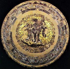 Greek Keys on Shield of Philip