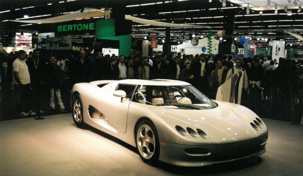 Koenigsegg CC at Paris Auto Show