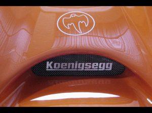 Koenigsegg CCR Ghost Logo